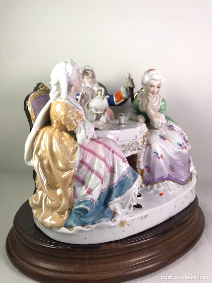 Antigüedades: Figura Porcelana- Francia- Hannong- (1770-1800) - Foto 11 - 134043205