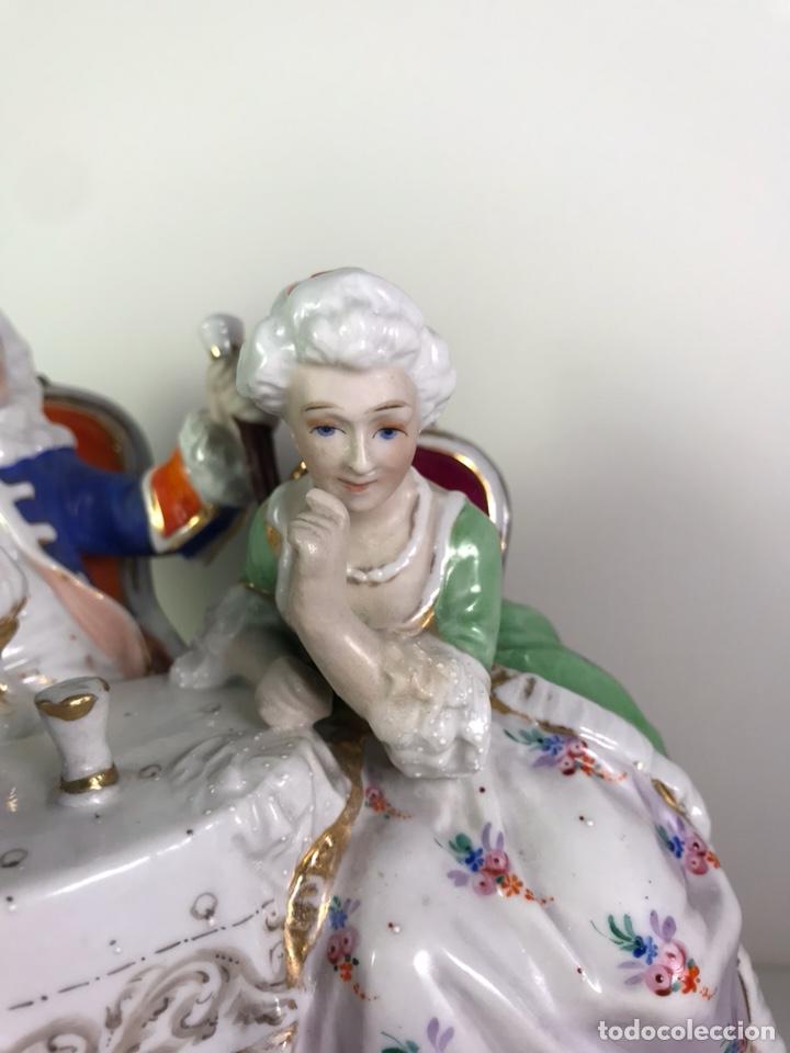 Antigüedades: Figura Porcelana- Francia- Hannong- (1770-1800) - Foto 13 - 134043205