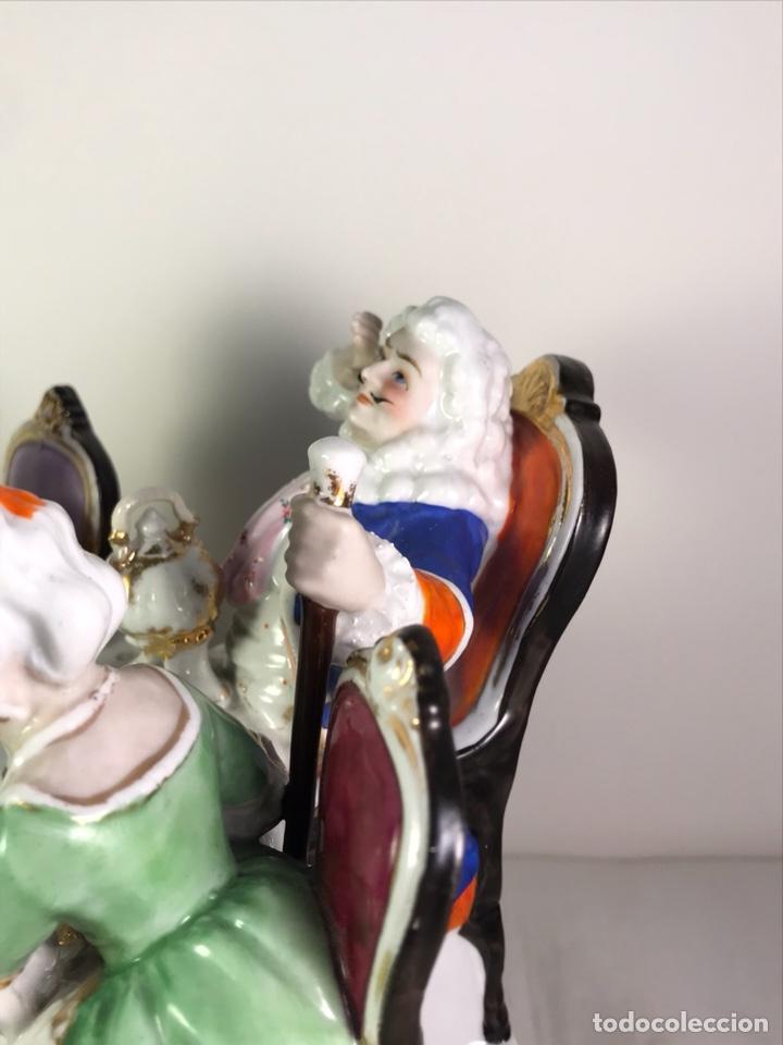 Antigüedades: Figura Porcelana- Francia- Hannong- (1770-1800) - Foto 26 - 134043205