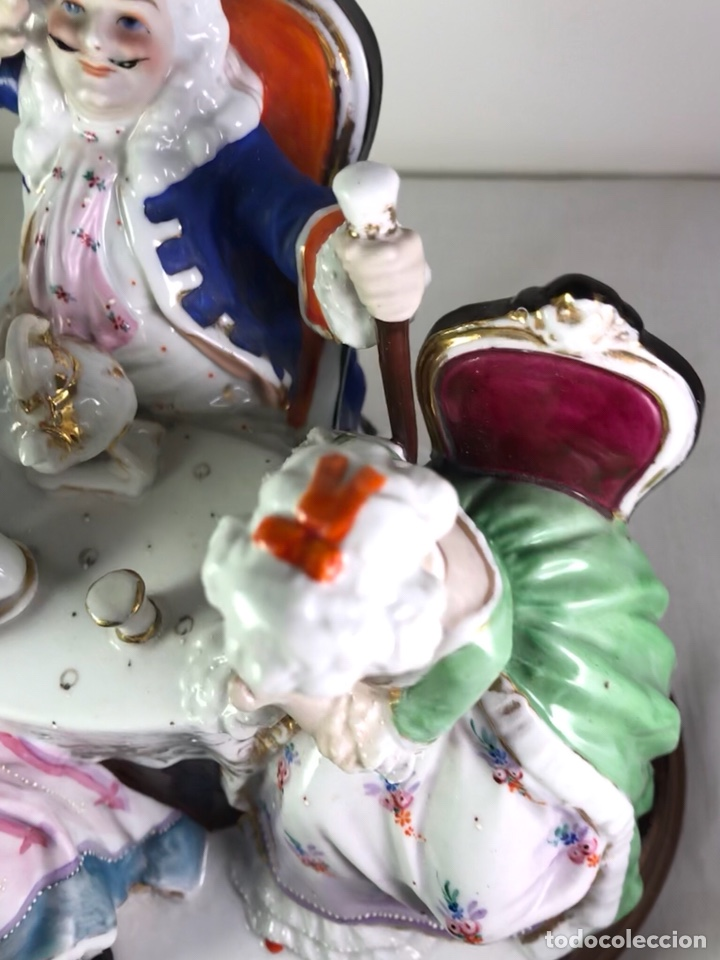 Antigüedades: Figura Porcelana- Francia- Hannong- (1770-1800) - Foto 31 - 134043205