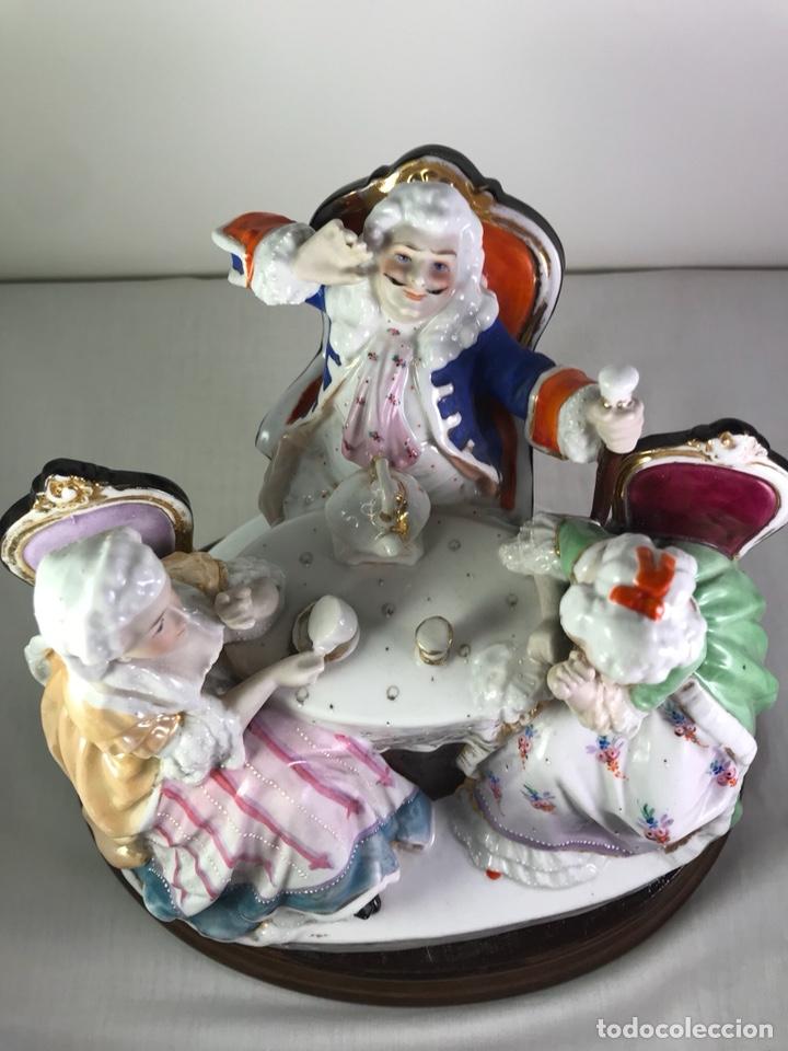Antigüedades: Figura Porcelana- Francia- Hannong- (1770-1800) - Foto 32 - 134043205