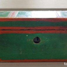 Antigüedades: BAUL ANTIGUO EN MINIATURA. Lote 134090382