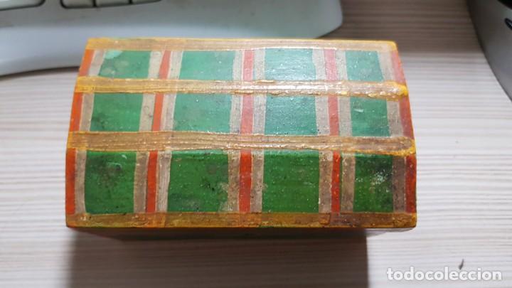 Antigüedades: Baul antiguo en miniatura - Foto 2 - 134090382