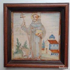 Antigüedades: SAN ANTONIO.AZULEJO. VALENCIA ,SIGLO XVIII. Lote 134128490
