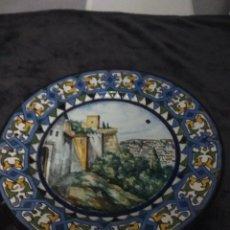 Antigüedades: PRECIOSO PLATO ANTIGUO. Lote 134184646