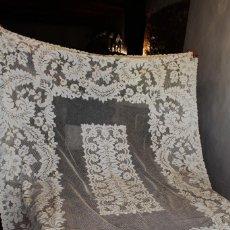 Antigüedades: T9 MANTEL DE ALENÇON AÑOS 1920. Lote 134193482