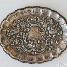 Antigüedades: ELEGANTE BANDEJITA PLADUR PLATA DE LEY ESTILO ART NOUVEAU. Lote 134240290