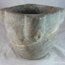 Antigüedades: MORTERO PIEDRA - 5,9KG - 16CM. Lote 134242646