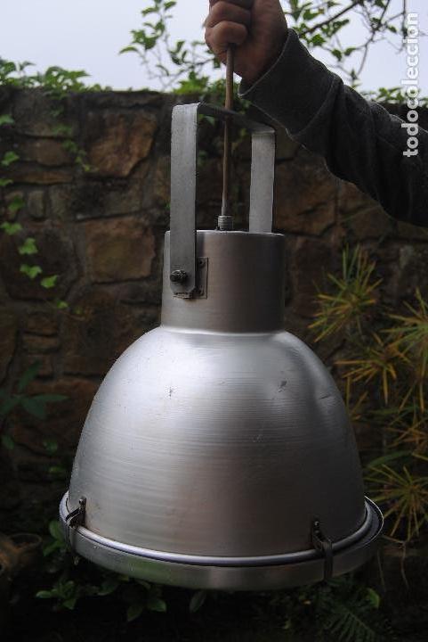 FOCO INDUSTRIAL (Antigüedades - Iluminación - Lámparas Antiguas)