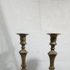 Antiquitäten - Juego de candeleros Art Nouveau, finales del XIX-principios del XX, portavelas - 134263090