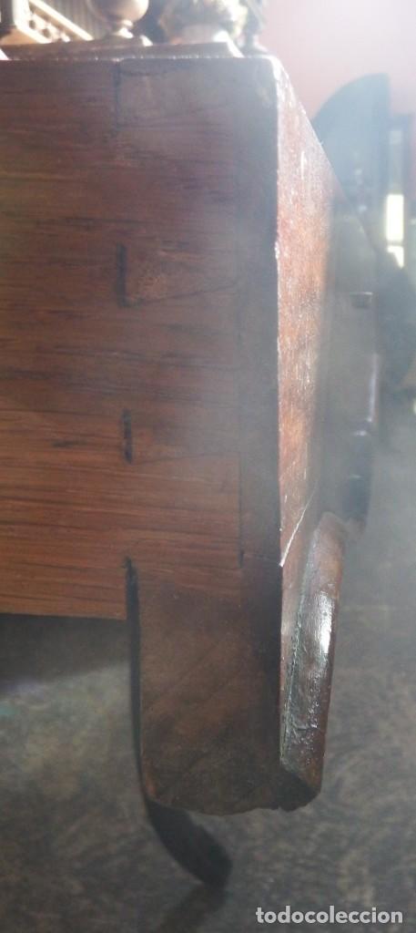 Antigüedades: SECRETER CHAPA DE CAOBA. P. S. XX. - Foto 13 - 134282602