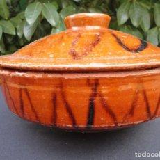 Antigüedades: ALFARERÍA CATALANA: SOPERA DE BLANES . Lote 134283970