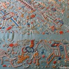 Antigüedades: MANTÓN DE MANILA. Lote 134287122