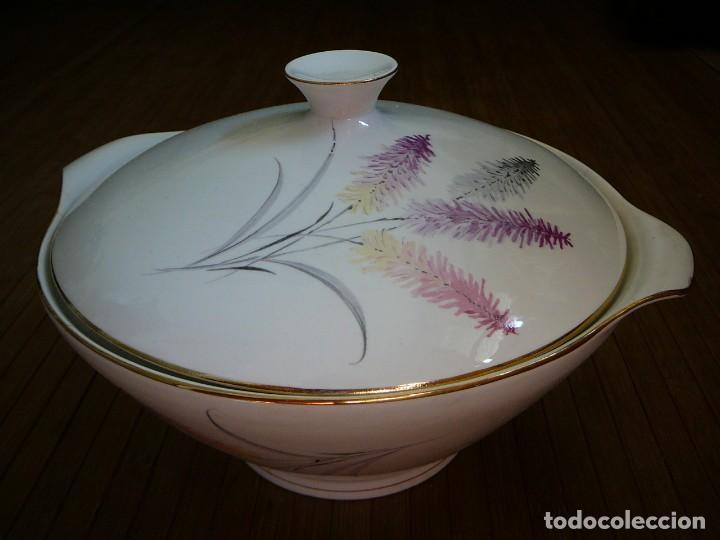 Antigüedades: Sopera. Fuente de porcelana. Porcelanit. - Foto 2 - 134301550