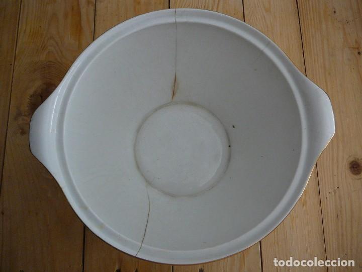 Antigüedades: Sopera. Fuente de porcelana. Porcelanit. - Foto 3 - 134301550