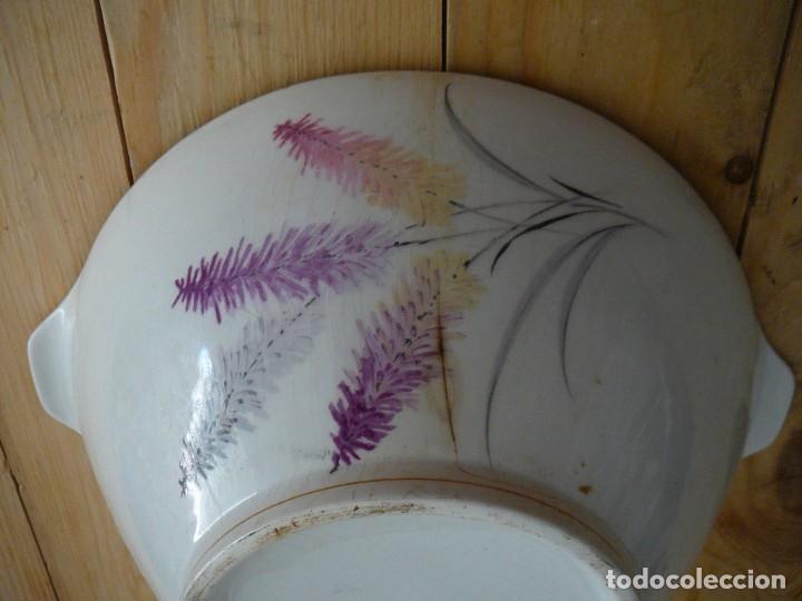 Antigüedades: Sopera. Fuente de porcelana. Porcelanit. - Foto 4 - 134301550