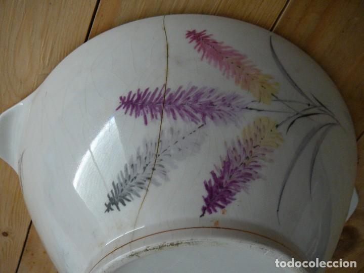 Antigüedades: Sopera. Fuente de porcelana. Porcelanit. - Foto 5 - 134301550