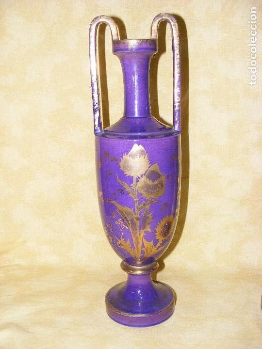 Antigüedades: PAREJA DE JARRONES EUROPEOS - Foto 2 - 130186203