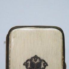 Antigüedades: MONEDERO DE MARFIL. SIGLO XIX. Lote 134329354