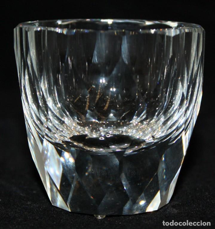 VASO DE CRISTAL TALLADO SWAROVSKI (Antigüedades - Cristal y Vidrio - Swarovski)