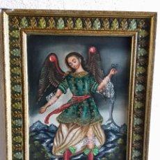 Antigüedades: CUADRO ARCANGEL. Lote 268909014