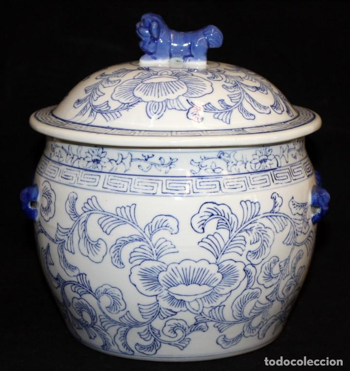 SOPERA CHINA DE PORCELANA. (Antigüedades - Porcelana y Cerámica - Holandesa - Delft)