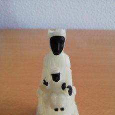 Antigüedades: ANTIGUA IMAGEN VIRGEN DE MONTSERRAT FLUORESCENTE. Lote 134391046