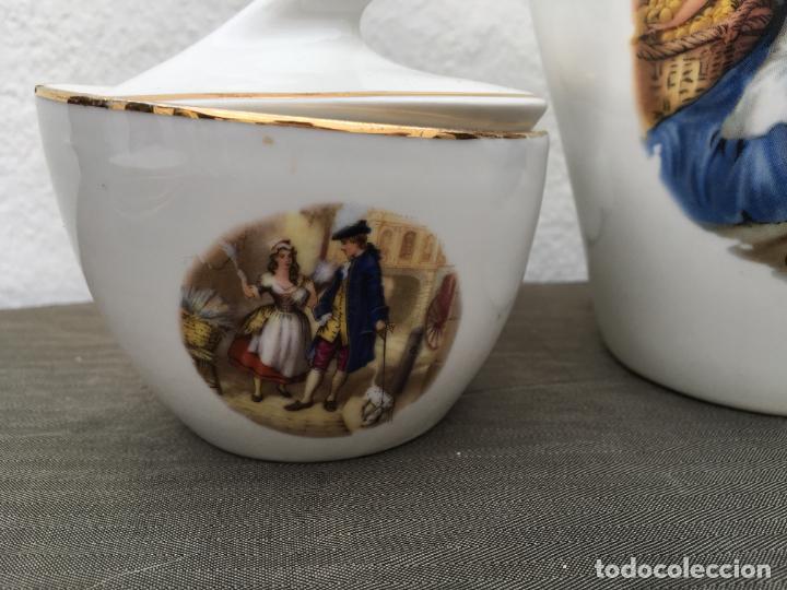 Antigüedades: JUEGO ANTIGUO DE CAFE PORCELANA - Foto 4 - 134429750