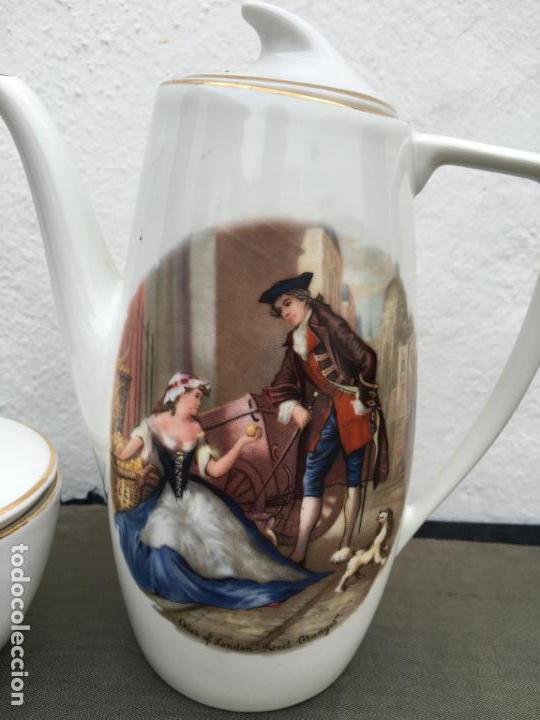 Antigüedades: JUEGO ANTIGUO DE CAFE PORCELANA - Foto 5 - 134429750