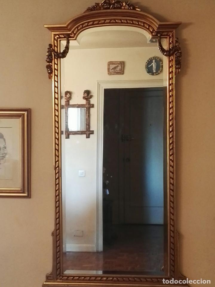 Antigüedades: Consola + Espejo, estilo Luis XVI - Foto 3 - 134433378