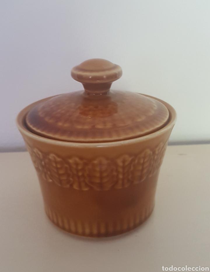Antigüedades: La Pontesa Azucarero vintage color miel - Foto 2 - 134448297