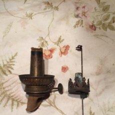 Antigüedades: ANTIGUOS QUEMADOR / QUEMADORES DE LÁMPARA DE PETROLEO O QUINQUÉ AÑOS 10-20 . Lote 134448626