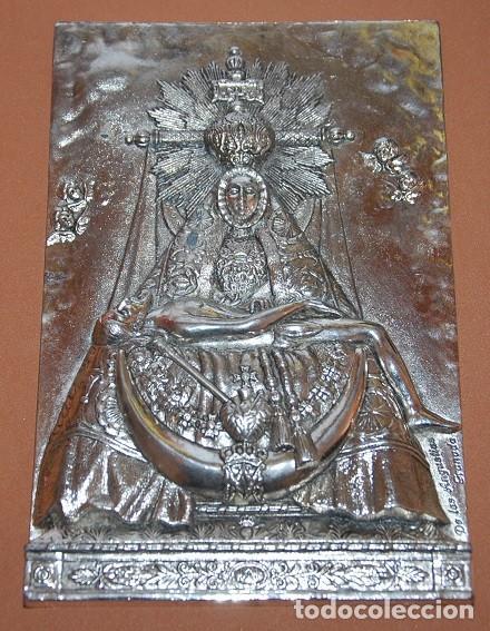 VIRGEN DE LAS ANGUSTIAS PLACA / APLIQUE VIRGEN DE LAS ANGUSTIAS-05 (Antigüedades - Religiosas - Varios)