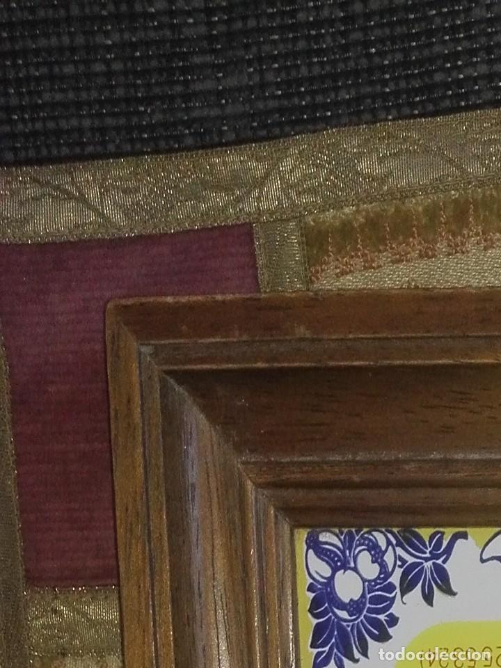 Antigüedades: Azulejo con reloj.años 80 - Foto 2 - 134542306