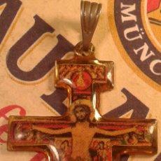 Antigüedades: COLGANTE RELIGIOSO. CRUCIFIJO. MEDALLA CRISTO.. Lote 134652522