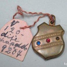Antigüedades: ANTIGUO COLGANTE CON PEDRERIA. FINALES SIGLO XIX. Lote 134732434