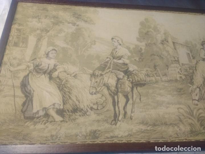 Antigüedades: Tapiz finales siglo XIX - Foto 2 - 134733550