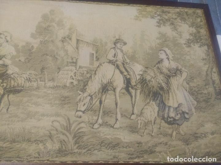 Antigüedades: Tapiz finales siglo XIX - Foto 3 - 134733550