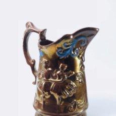 Antigüedades: JARRA DE REFLEJOS, BRISTOL, S. XIX. Lote 134745222