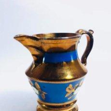 Antigüedades: JARRA DE REFLEJOS, BRISTOL, S. XIX. Lote 134745354