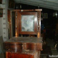 Antigüedades: TOCADOR ISABELINO SOBRE MESA. Lote 134750034