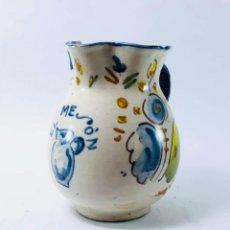 Antigüedades: JARRA EN CERÁMICA, MANISES, S. XIX. Lote 134753310