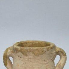 Antigüedades: PEQUEÑA ORZA DE BARRO. Lote 134758174
