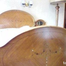 Antigüedades: CAMA ESTILO MODERNISTA. CIRCA 1920. Lote 134765034