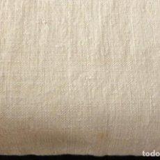 Antigüedades: ANTIGUA SABANA DE LINO GRUESO CON COSTURA CENTRAL S. XIX. Lote 181494442