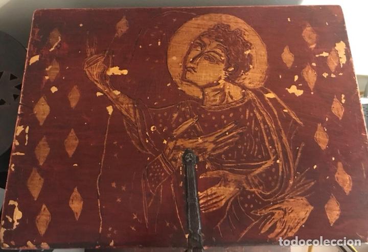 Antigüedades: Bargueño, cajón secreto, llave original. - Foto 7 - 134775359
