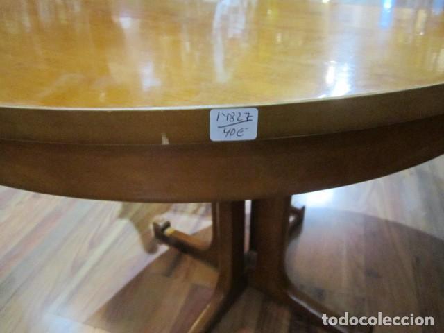 Mesa comedor redonda 80 cm. diámetro extensible - Vendido en Venta ...