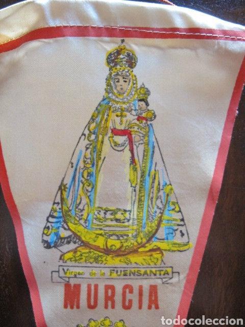 BONITO BANDERIN NUESTRA SEÑORA DE LA FUENSANTA VIRGEN MURCIA (Antigüedades - Religiosas - Varios)