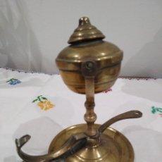 Antigüedades: ANTIGUO CANDELERO DE ACEITE.. Lote 134805626