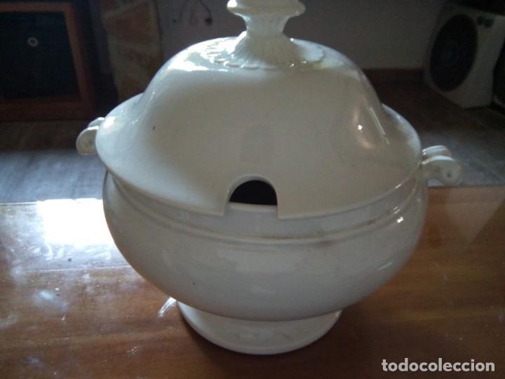 *ANTIGUA SOPERA PICKMAN. (RF:B/E) (Antigüedades - Porcelanas y Cerámicas - La Cartuja Pickman)